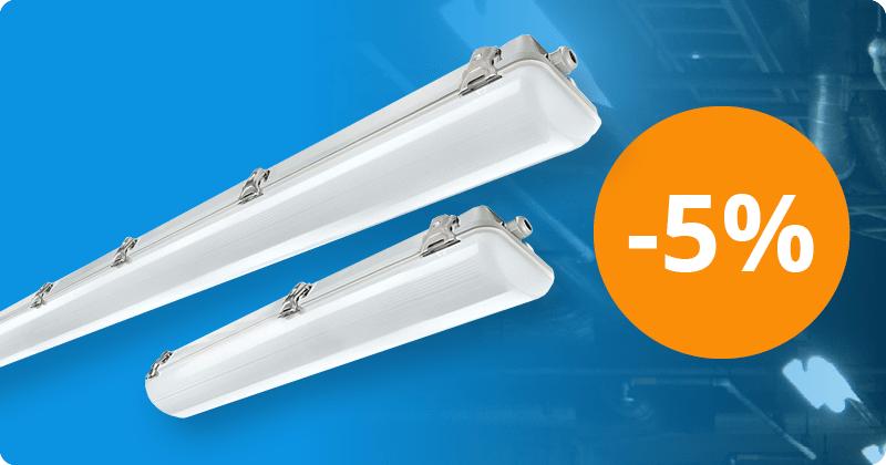 Noxion: Wasserdichte LED-Lampen