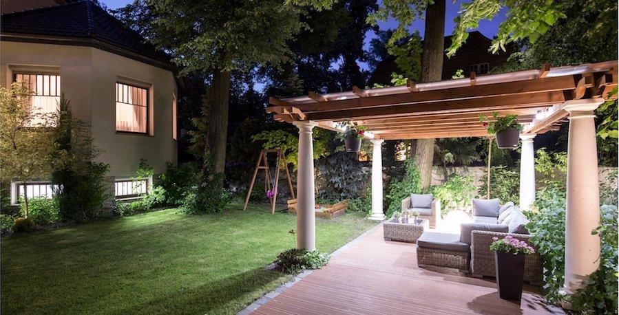 LED Sensorverlichting Tuin